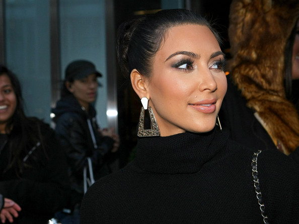 Kim Kardashian Geommetric Earrings
