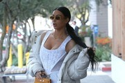 Kim Kardashian Down Jacket