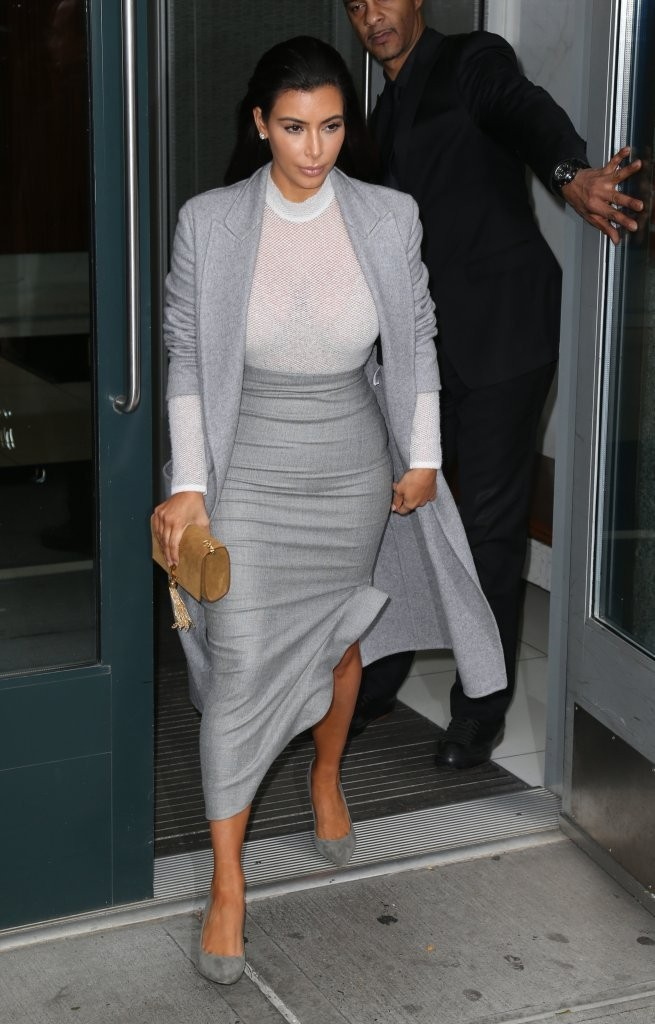 Kim Kardashian Pencil Skirt Dresses