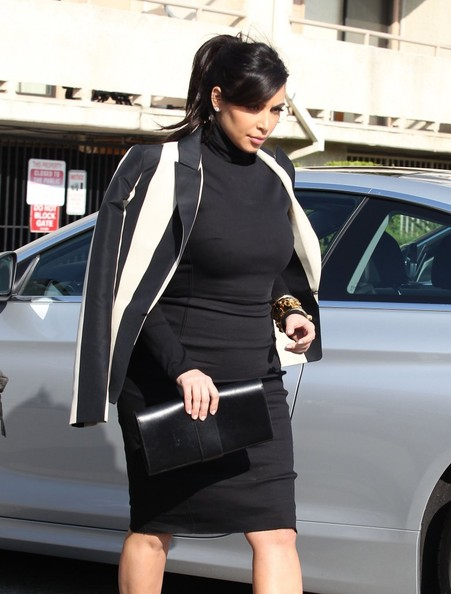 More Pics of Kim Kardashian Blazer (2 of 33) - Kim Kardashian Lookbook - StyleBistro