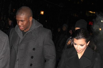 Kim Kardashian Reggie Bush Kim Kardashian And Reggie Bush On A Nightout In New York