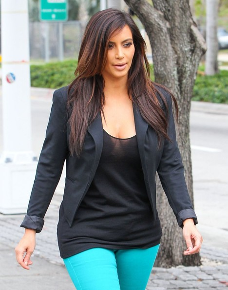 More Pics of Kim Kardashian Pumps (2 of 50) - Kim Kardashian Lookbook - StyleBistro