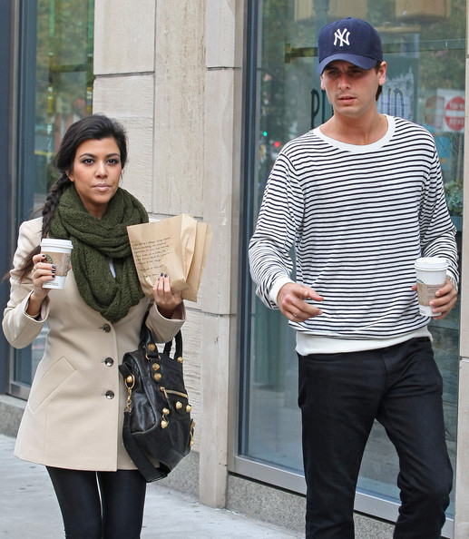 Kourtney Kardashian Knit Scarf