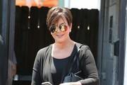 Kris Jenner Quilted Leather Bag