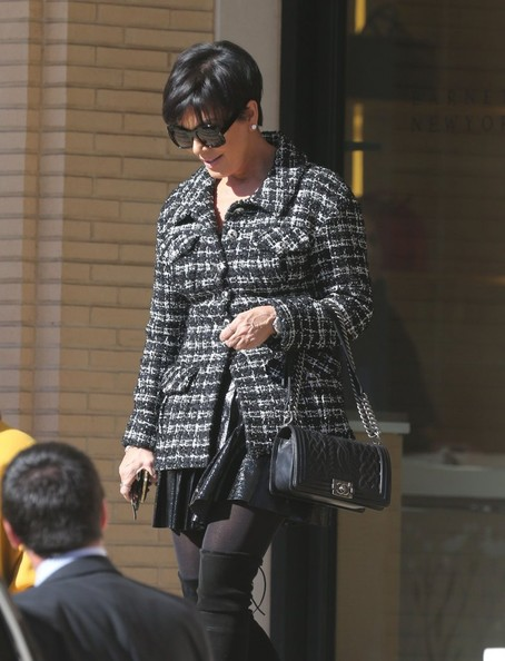 Kris Jenner Chain Strap Bag