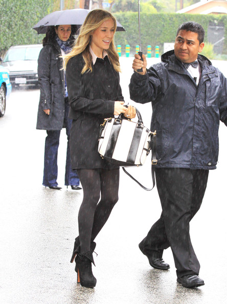 Kristin Cavallari Leather Bowler Bag