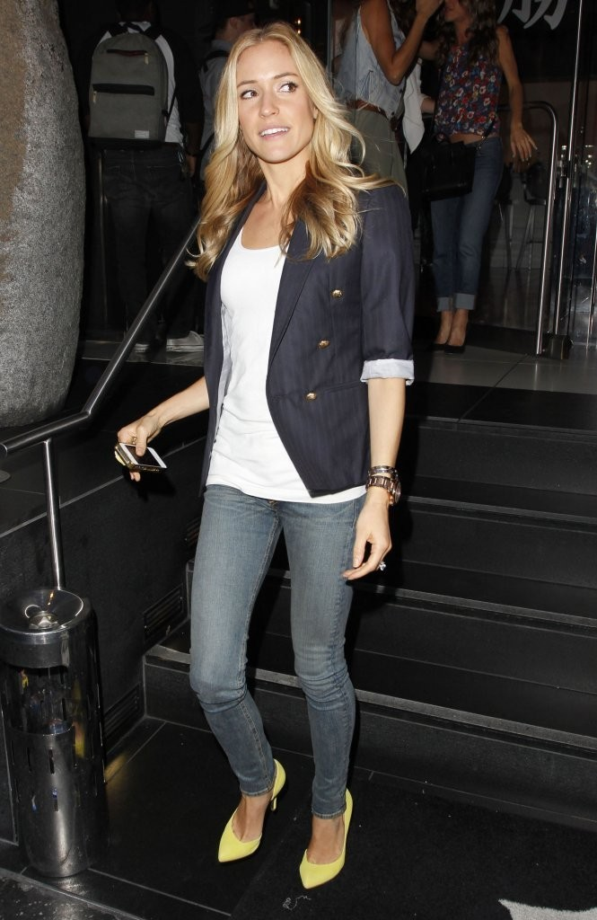 Kristin Cavallari Out For Dinner At Katsuya