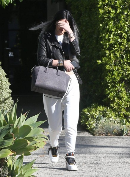Kylie Jenner Basketball Sneakers
