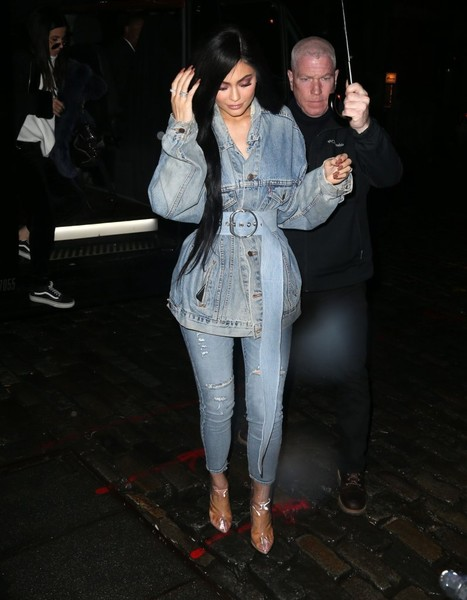 Kylie Jenner Ankle Boots [fashion,event,outerwear,performance,fun,jacket,leg,jeans,trousers,night,kylie jenner,tyga,fashion,umbrella,rain,outfit,model,new york city,ny,birthday,kylie jenner,celebrity,keeping up with the kardashians,socialite,fashion,birthday,model,party]