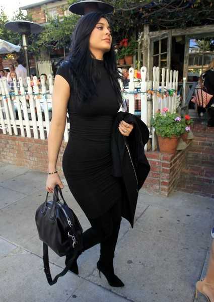 Kylie Jenner Form-Fitting Dress