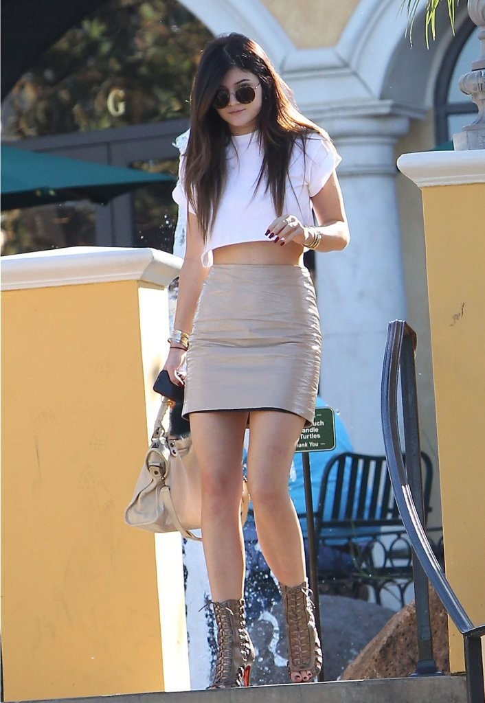 Kylie Jenner Lunches At Sugarfish