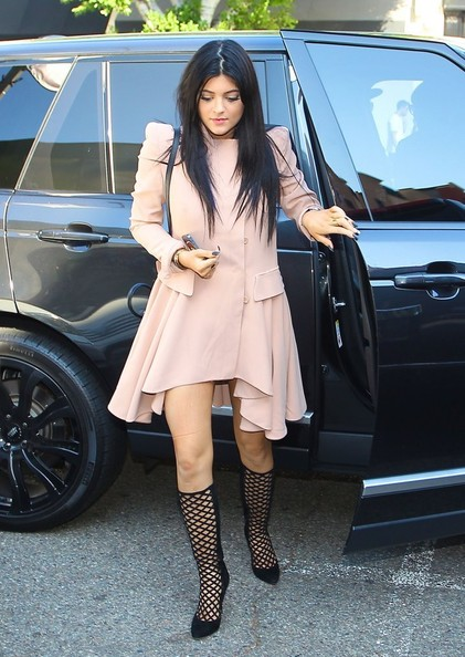Kylie Jenner Evening Coat