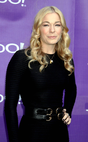 LeAnn Rimes Leather Belt