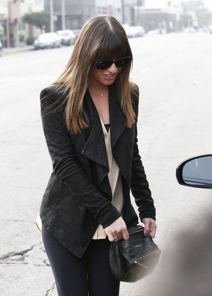 More Pics of Lea Michele Skinny Pants (1 of 19) - Lea Michele Lookbook - StyleBistro