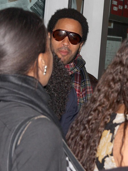 Lenny Kravitz Oval Sunglasses