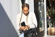 Leona Lewis Leather Tote