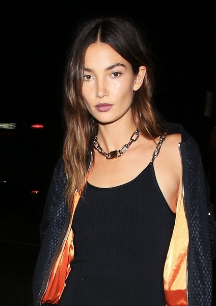 Lily Aldridge Sterling Collar Necklace