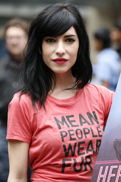 Lisa Origliasso Long Wavy Cut with Bangs