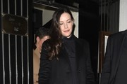 Liv Tyler Wool Coat