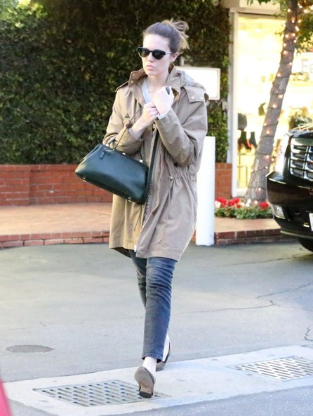 Mandy Moore Shops At Fred Segal