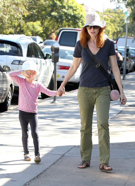 Marcia Cross V-Neck Tee