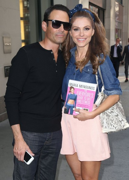 Maria Menounos Out with Her Boyfriend
