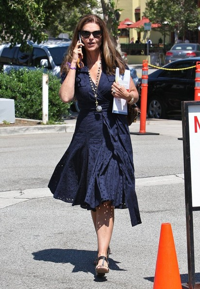 Maria Shriver Shirtdress