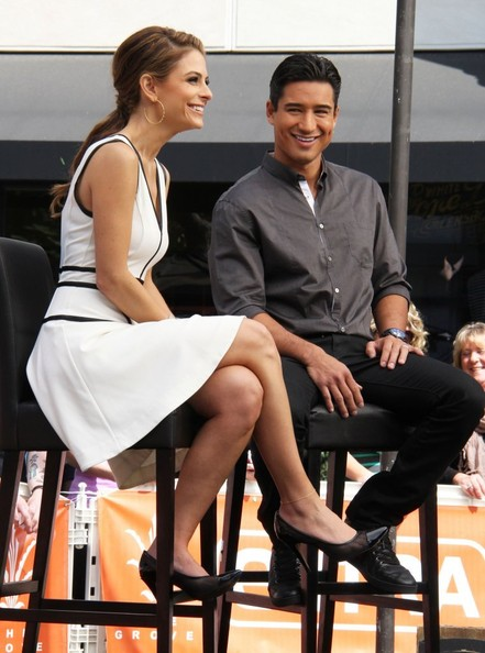 More Pics of Maria Menounos Cocktail Dress (5 of 17) - Maria Menounos Lookbook - StyleBistro