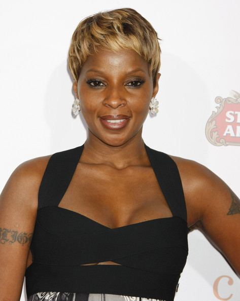 Mary J Blige Short Hairstyles Sh