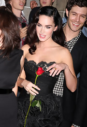 Sexy star Megan Fox wore Loriann Stevenson rings to this premiere.