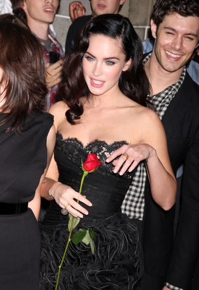 Megan Fox Cocktail Ring