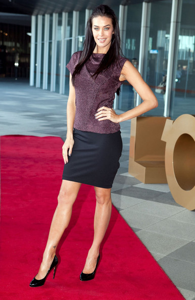 Megan Gale Fitted Blouse