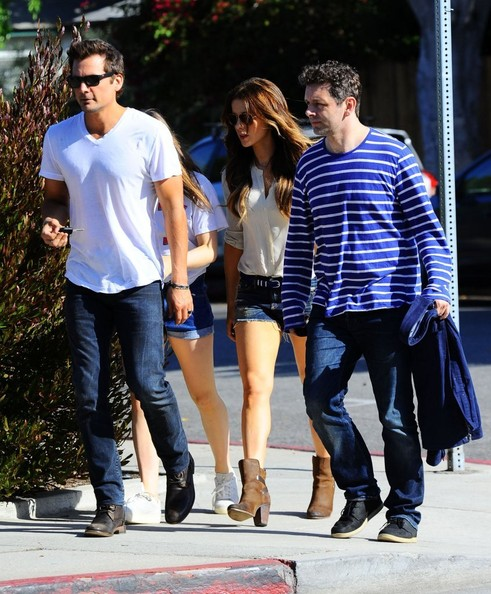 Kate Beckinsale and Family Celebrate Father's Day