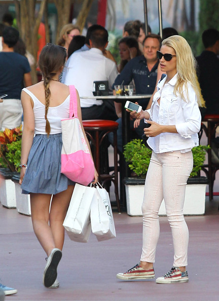 Michelle Hunziker Canvas Sneakers