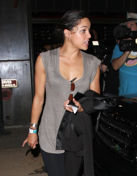Michelle Rodriguez Loose Blouse