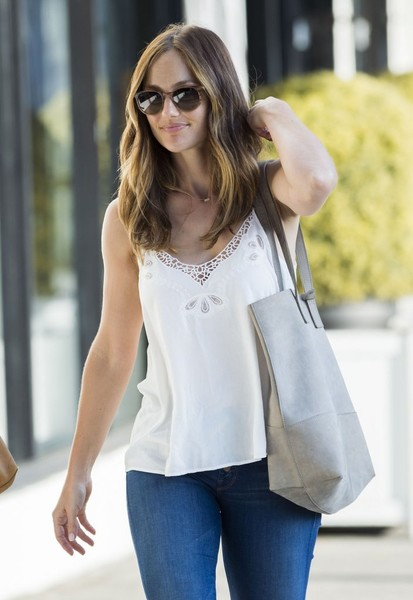 Minka Kelly Square Sunglasses