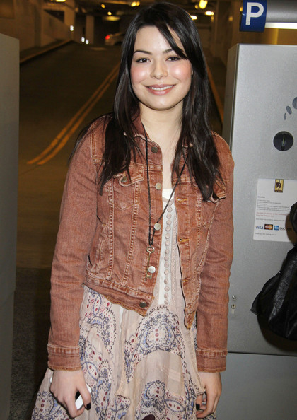 Miranda Cosgrove Denim Jacket