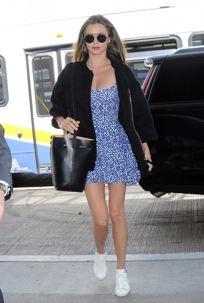 Miranda Kerr Leather Sneakers