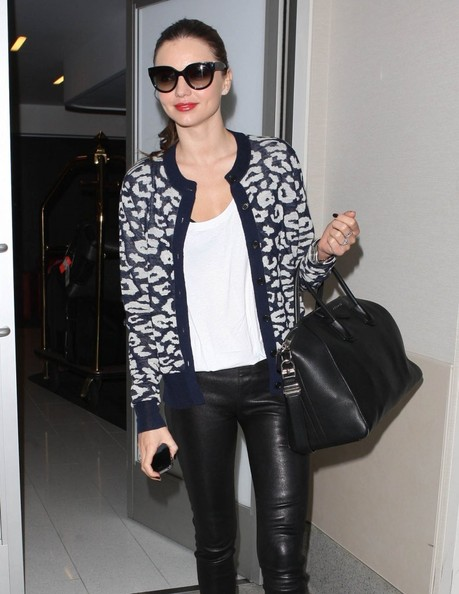 More Pics of Miranda Kerr Cardigan (5 of 34) - Miranda Kerr Lookbook - StyleBistro