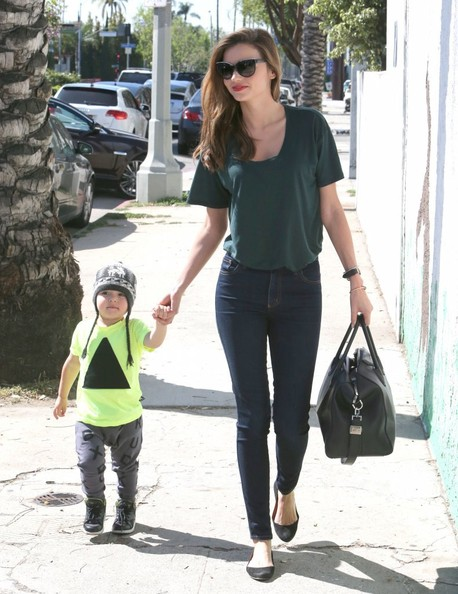 Miranda Kerr and Baby Flynn