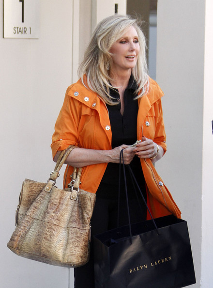 Morgan Fairchild Exotic Skin Tote
