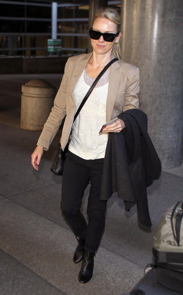 More Pics of Naomi Watts Ankle boots (1 of 10) - Naomi Watts Lookbook - StyleBistro