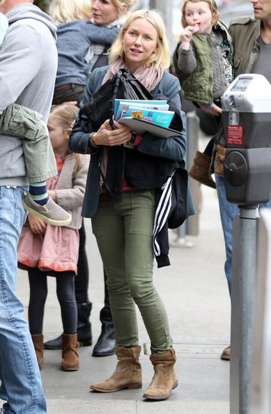 More Pics of Naomi Watts Ankle boots (2 of 7) - Boots Lookbook - StyleBistro