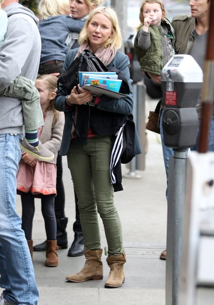 More Pics of Naomi Watts Ankle boots (4 of 7) - Naomi Watts Lookbook - StyleBistro