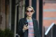 Naomi Watts Tweed Coat