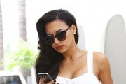 Naya Rivera Cateye Sunglasses