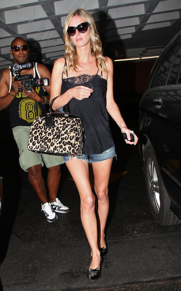 More Pics of Nicky Hilton Smoking Slippers (1 of 10) - Smoking Slippers Lookbook - StyleBistro