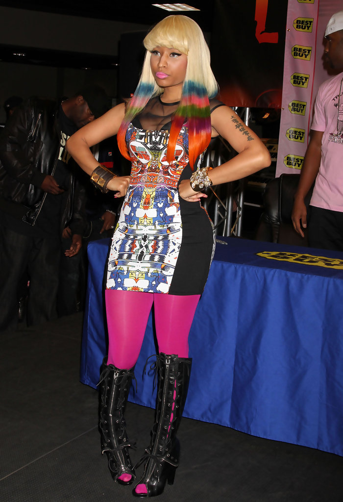 nicki minaj print dress nicki minaj clothes looks