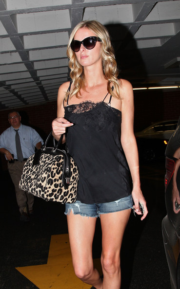 Nicky Hilton Printed Bowler Bag