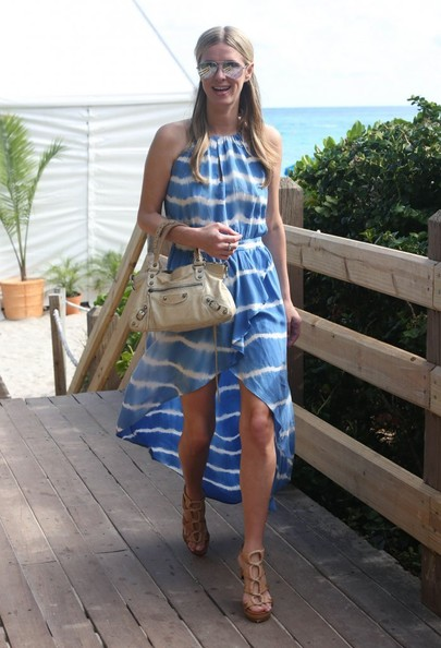 Nicky Hilton Fishtail Dress